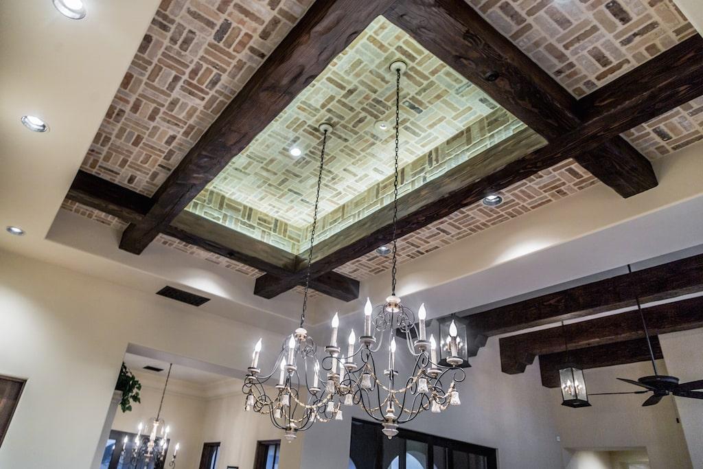 Luxury Kitchen Custom Ceiling Design.