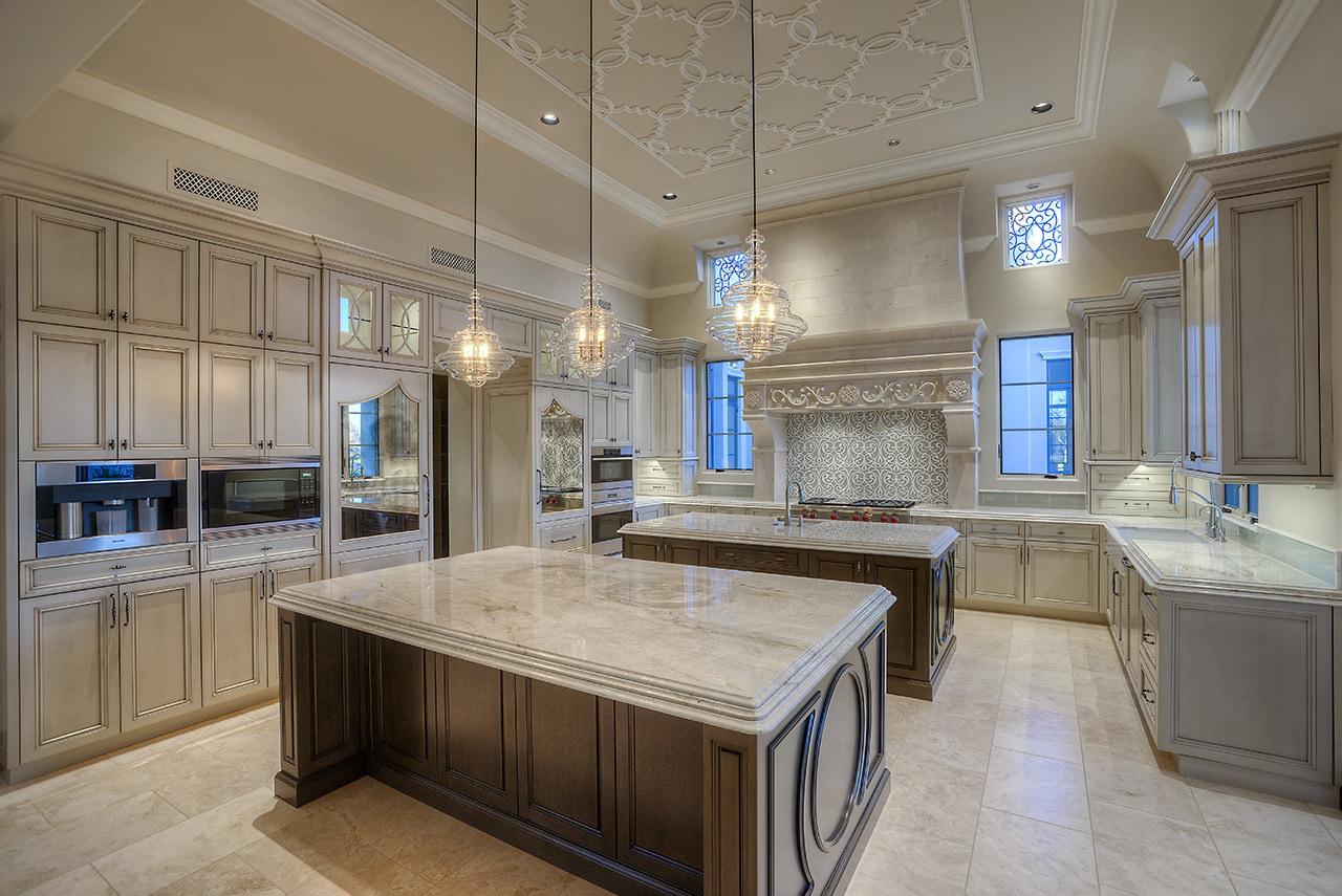 4 Formal Mediterranean Luxury Home kitchen