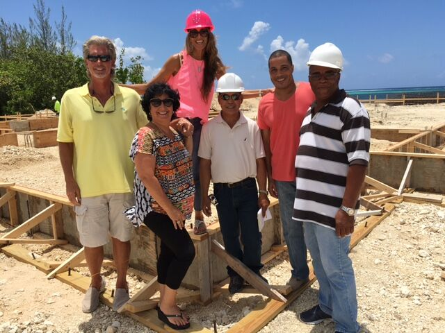 Cayman Islands Luxury Home Ground Breaking